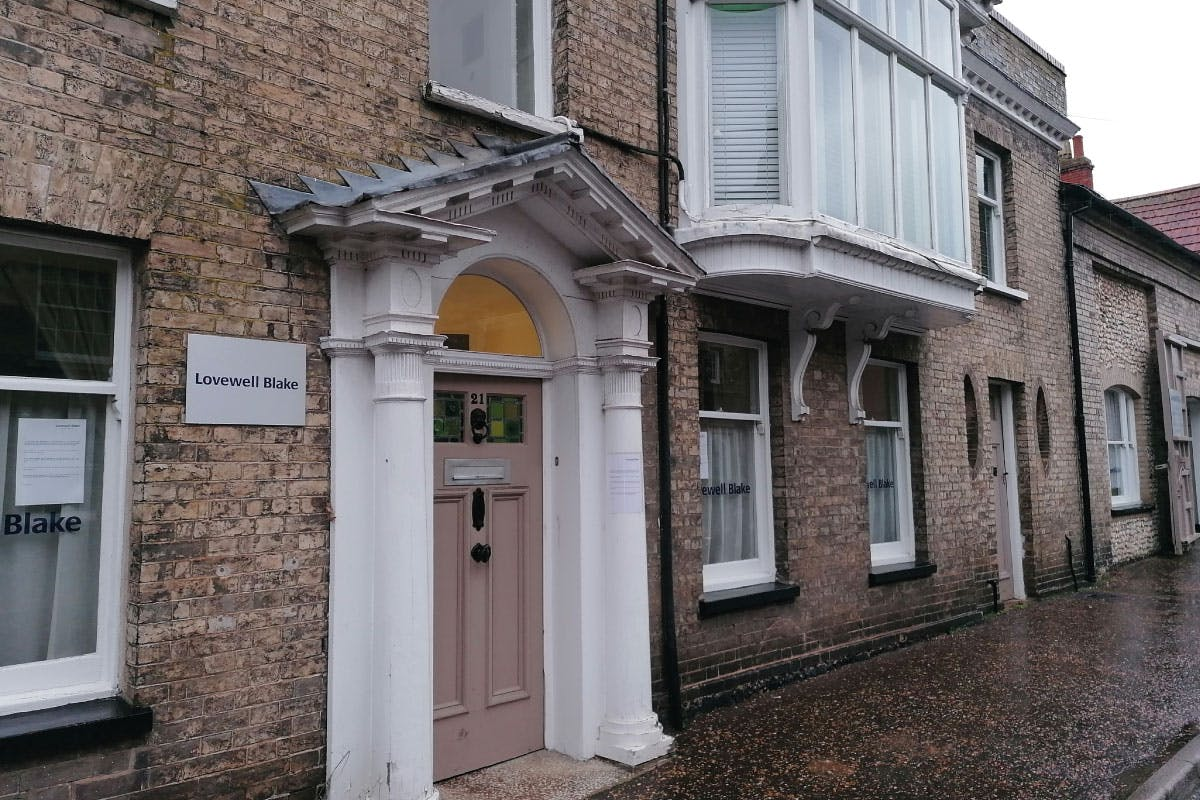 Lovewell Blake accountants Thetford offices Suffolk